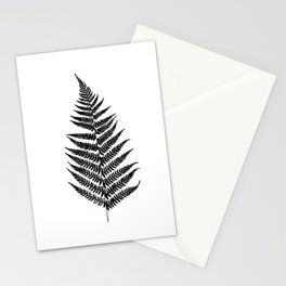 Fern silhouette Stationery Cards