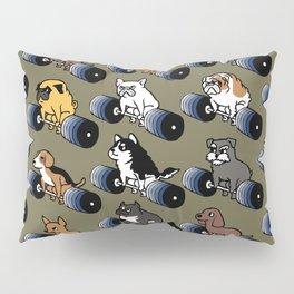 5 plates deadlift Puppies Pillow Sham