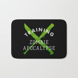 Training: Zombie Apocalypse Bath Mat