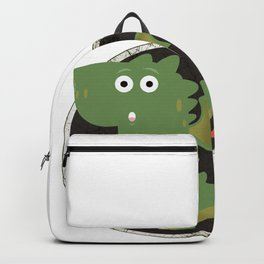 Farting Dragon Backpack