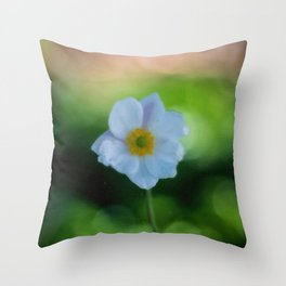 Watercolour Flower Throw Pillow