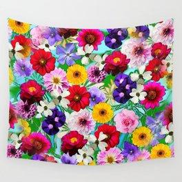 Garden in Bloom Wall Tapestry