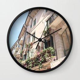 Italy Shopfront Wall Clock