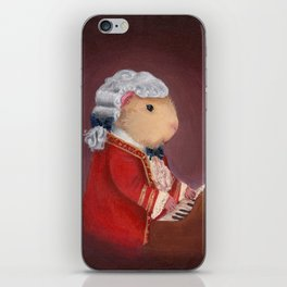 Guinea Pig Mozart Classical Composer Series iPhone Skin