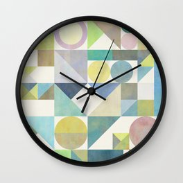Nordic Combination 21 Wall Clock