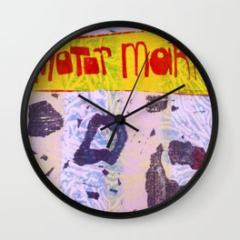 Motor Mark Wall Clock