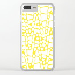 Asymmetry collection: sunny spots Clear iPhone Case