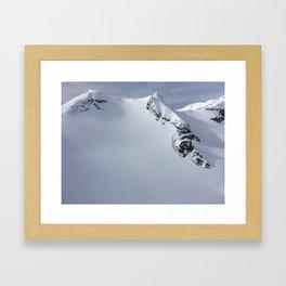 Heli View Framed Art Print