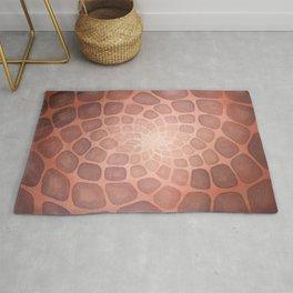 Purple Mandala Chakra Sacred Geometry Tapestry (Crown Chakra) Rug