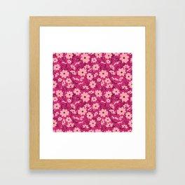 Cosmea pink Framed Art Print