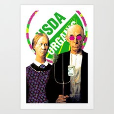Cash Crop Pop Art Print