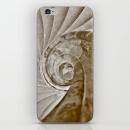Sand stone spiral staircase 13 iPhone Skin