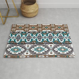 Modern Native American Pattern 5 Rug