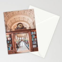 Boston Library Stationery Cards