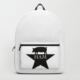 A Ham on a Star Backpack