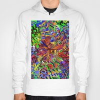 seashell Hoodies featuring offshore seashell by donphil