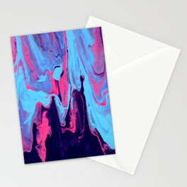Paint Pouring 25 Stationery Cards