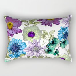 Botanical Haze Rectangular Pillow
