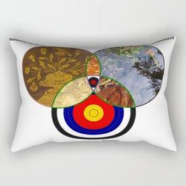 Venn 01 Rectangular Pillow