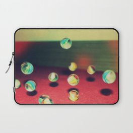 Retro Marbles Laptop Sleeve