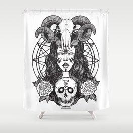 Satanic Princess Shower Curtain