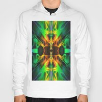 neon Hoodies featuring Neon by Assiyam