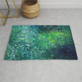 Color Fields: Mermaid Grotto Rug