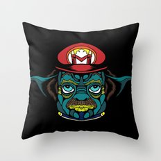 Mario + Yoda = Mariyoda Throw Pillow