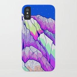 The vibrant Peak iPhone Case