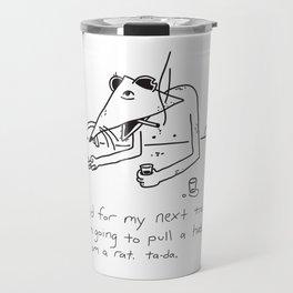 Rat Bastard Travel Mug