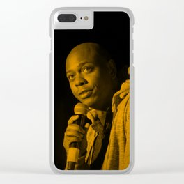 Dave Chappelle Clear iPhone Case