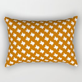 Texas longhorns college UT university sports football fan team alumni Rectangular Pillow