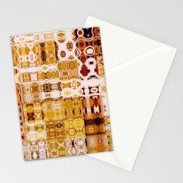 Amber Gypsy Mosaic | Retro Abstract | Nadia Bonello | Canada Stationery Cards