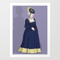 German Woman Art Print