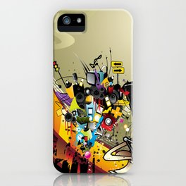 Sound System Space iPhone Case