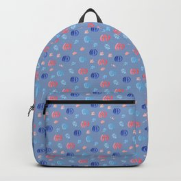 Chinese Lanterns and Firework Pattern Backpack