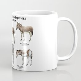 Endangered Equines of the World Coffee Mug