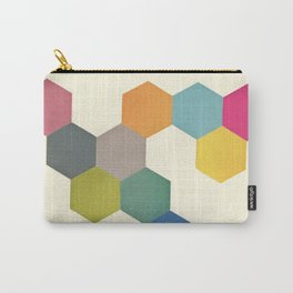 Honeycomb I Carry-All Pouch