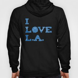 Los Angeles Street Map Hoody