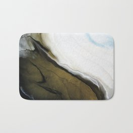 Slice of Heaven - Original Abstract Painting Bath Mat