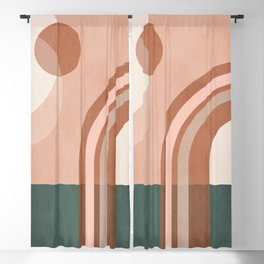 Geometric Abstract 99 Blackout Curtain