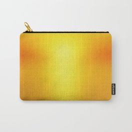 Hot Orange Carry-All Pouch