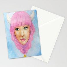 Bubblegum Queen Stationery Cards