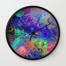 Waking Earth Wall Clock