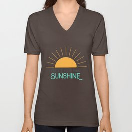Create Your Own Sunshine Unisex V-Neck