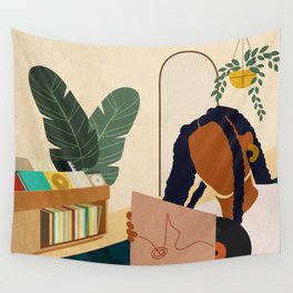 Stay Home No. 4 Wall Tapestry