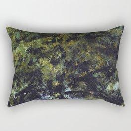 tree painting Rectangular Pillow