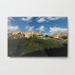 Cascade Mountains Metal Print