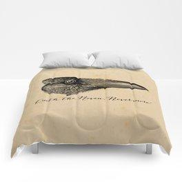 Nevermore - Edgar Allan Poe - Quoth the Raven Comforters