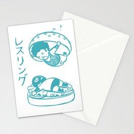 OH MY GOR - Wrestling Burger Stationery Cards